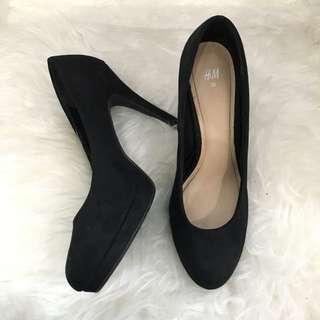 H&M Black Heels size 38