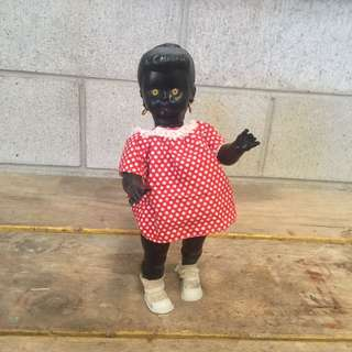 Non Pc black doll