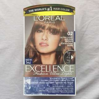 Brand New L'Oreal Paris Hair Color Box Dye in Ultra Light Golden Brown