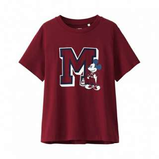 Women Disney(Varsity) SHORT SLEEVE GRAPHIC T-SHIRT
