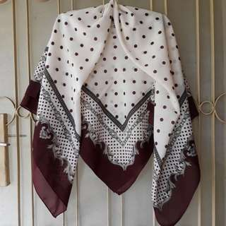 Hijab AKEL made in Turkey Maroon