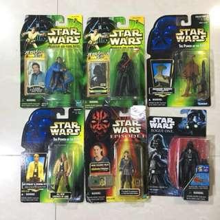 Star war 六隻 可以散買