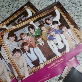 [WTS] WANNA ONE NOTHING WITHOUT YOU POSTER