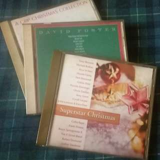 3 Imported Christmas CDs from US