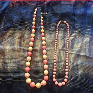 TAKE ALL: 4 Beaded Necklaces