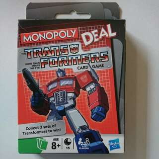 Monopoly Deal Transformers