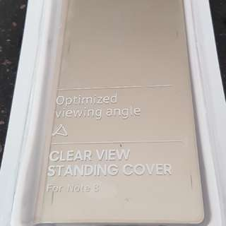 Samsung Note 8 phone cover  gold new