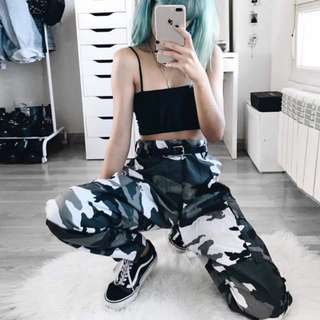 Dark grey Camo pants