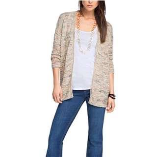 Esprit Women Casual Knit Cardigan 女裝針織長外套Size S (EU 36) 👱🏻♀️👩🏼