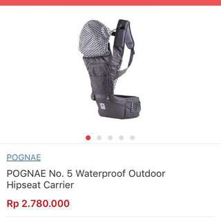 Hip seat pognae waterproof