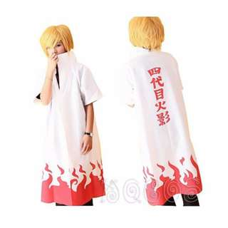 🉐 Namikaze Minato 4th Yondaime Hokage Long Coat