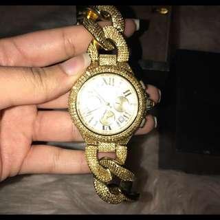 Michael Kors Gold Watch Sparkling
