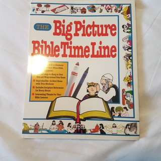 Christian book : The Big Picture Bible Timeline Book