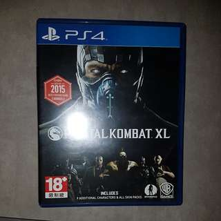 Mortal Kombat XL for PS4 (Used)