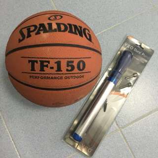 Basketball Spalding TF-150 w/ pump