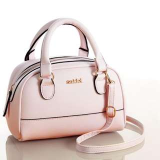 SNIDEL x SWEET: Baby Pink Mini Boston Bag
