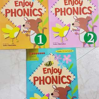 Enjoy Phonics (3 books)