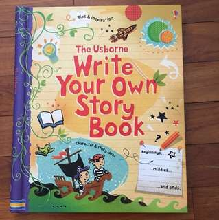 The Usborne Write Your Own Stories Book (Hardback)
