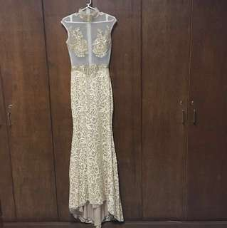 FOR SALE! Beige-Gold Long Gown