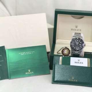 Rolex 116710LN 綠針 GMT