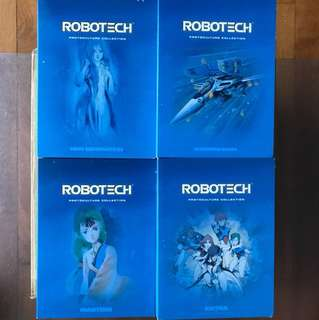 Robotech dvd set