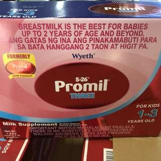 Promil powdered milk