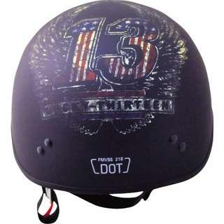🚚 【金剛安全帽】TORC T-55.2 Lucky 13 WINGS 消光黑 半盔/半罩/ 哈雷帽 美式安全帽 偉士牌