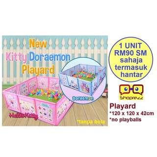 Playard (without playballs / tanpa bola)