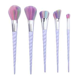 Unicorn Makeup Brushes/ Brush Set