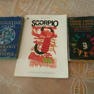 Books on Zodiac signs and Astrology