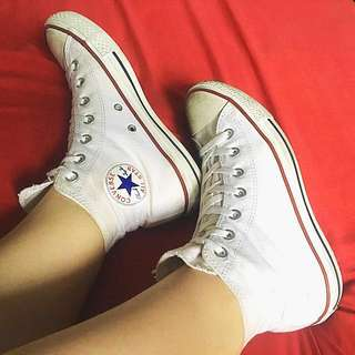 White Converse All Star