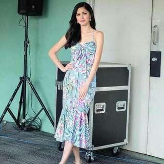 celebrity kim chiu bodycon sleeveless dress