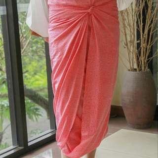 Plain Batik in Baby Pink