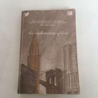 novel romance architecture of love by ika natassa