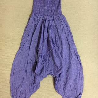 Yoga Asana Purple Pants