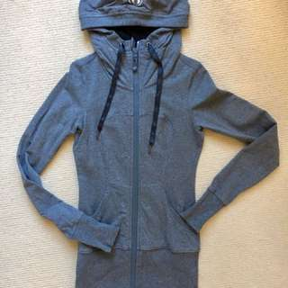 Lululemon Grey Long Jacket