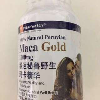 Vita Health Maca Gold 1000mg
