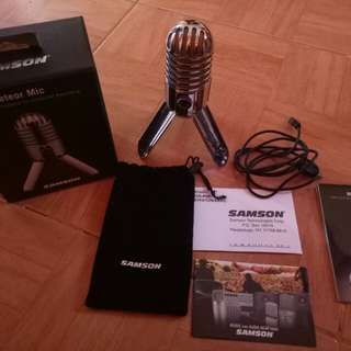 Samson Meteor Mic(USB Studio Microphone)