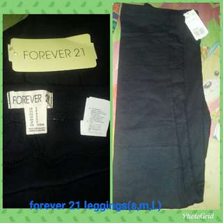 forever 21 leggings( s,m,L)( 150 retail,100 whole sale min. of 3)