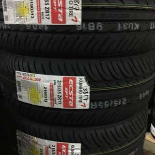 New Offer Tyres 215/55/17