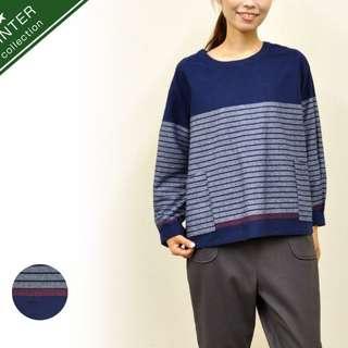 Atelier Equal 藍色全棉上衣