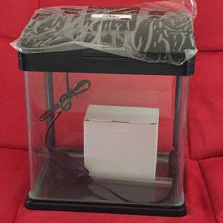 Promotion!! Full Set Glass Fish Tank
