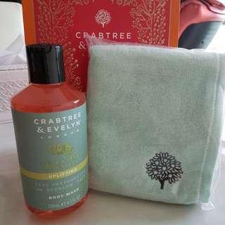 Crabtree & Evelyn bath And shower gel