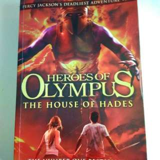 Percy Jackson Heroes of Olympus - the house of hades