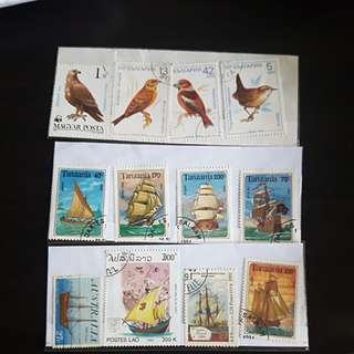 Stamps collection