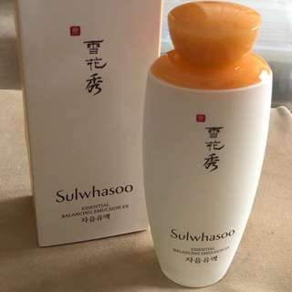 Sulwhasoo Essential Balancing Emulsion EX