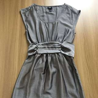 H&M silver formal dress