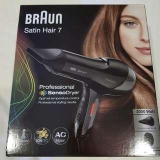 Braun Satin Hair 7 Professional Hairdryer