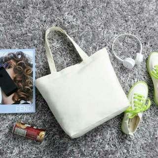 棉麻厚磅高質感 無印良品風格 素面 帆布袋 環保袋 購物袋 空白 棉麻布袋 白色 手提袋 手創 彩繪 轉印 橡皮章 文創 DIY 手工藝