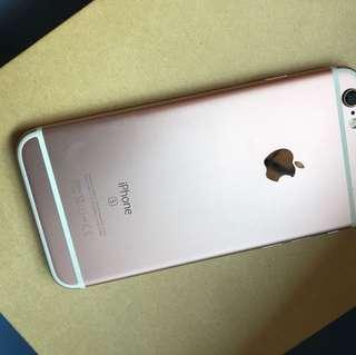 iPhone 6s 128Gb rose gold.